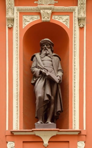 Johannes Gutenberg (Mogúncia, 1398 c. - 1468).