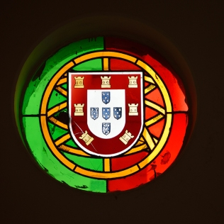 Bandeira e brasão de armas de Portugal / Flag and coat of arms of Portugal