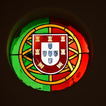 Bandeira e brasão de armas de Portugal / Flag and coat of arms of Portugal